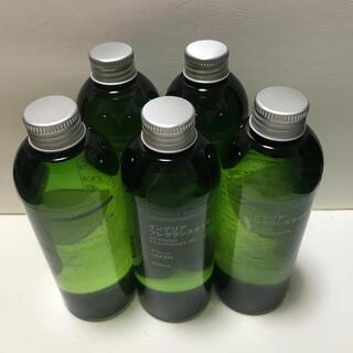 ムジルシリョウヒン(MUJI (無印良品))の無印良品フレグランスオイルグリーン250ml 5本(アロマオイル)