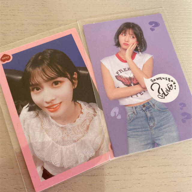 Waste(twice)(ウェストトゥワイス)のtwice トレカ モモ トレカセット モモ エンタメ/ホビーのCD(K-POP/アジア)の商品写真