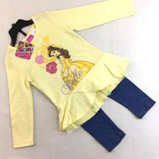 Disney - タグ付き 新品 ディズニープリンセス 美女と野獣 ベル チュールTシャツ パンツ