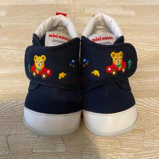 ミキハウス(mikihouse)のミキハウス ネイビー 靴 13 ファーストシューズ スニーカー(スニーカー)