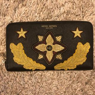 ヘンリベンデル(Henri Bendel)のヘンリベンデル 刺繍長財布(財布)