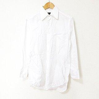 ランバン(LANVIN)のランバン LANVIN コレクション シャツ 長袖 チェック ボタンダウン 38(シャツ)