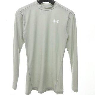 アンダーアーマー(UNDER ARMOUR)のアンダーアーマー UNDER ARMOUR 美品 アンダーシャツ グレー L(Tシャツ/カットソー(七分/長袖))