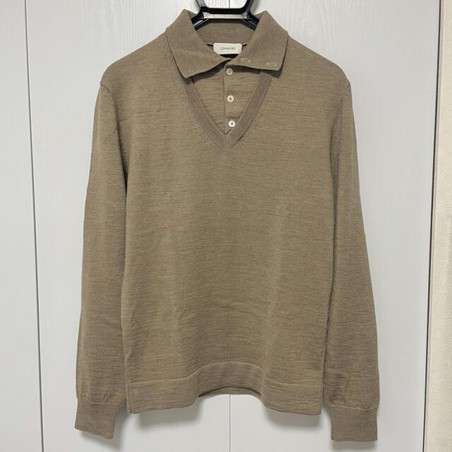 LEMAIRE(ルメール)の【LEMAIRE】 Layered Polo Shirt メンズのトップス(ニット/セーター)の商品写真