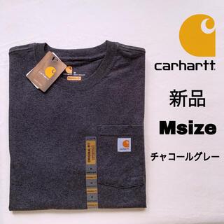 カーハート(carhartt)の新品 Carhartt チャコールグレー M Tシャツ カーハート 半袖 K87(Tシャツ/カットソー(半袖/袖なし))