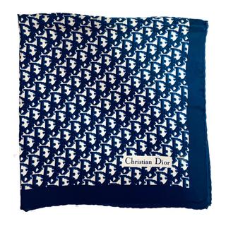 クリスチャンディオール(Christian Dior)のクリスチャン・ディオール Christian Dior ヴィンテージスカーフ(バンダナ/スカーフ)
