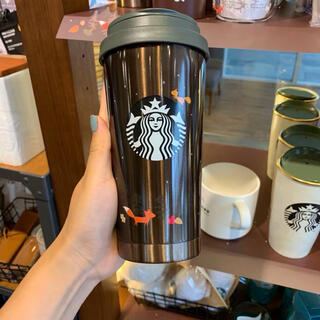 スターバックスコーヒー(Starbucks Coffee)の韓国 スターバックス 秋 ステンレス タンブラー(タンブラー)
