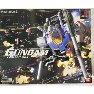 SONY - PS2 機動戦士ガンダム めぐりあい宇宙 リミテッドボックス フィギュア無し