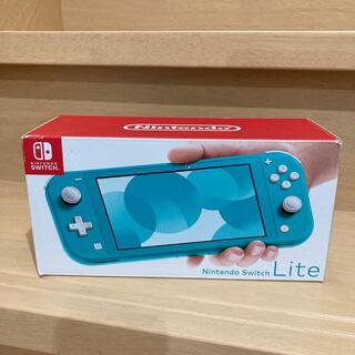 Nintendo Switch - switch lite ターコイズ 本体 新品 スイッチ ライト 新品