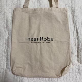 ネストローブ(nest Robe)の【美品】nestRobe ネストローブ キャンバストートバッグ (トートバッグ)