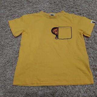 アベイシングエイプ(A BATHING APE)のエイプ マイロ シャツ 120 110 トップス BAPE KIDS キッズ(Tシャツ/カットソー)