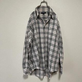 BURBERRY - バーバリーロンドン ノバチェック シャツ Lサイズ メンズ