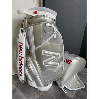 New Balance - 希少モデル ニューバランス  ゴルフ キャディバッグ  シルバー