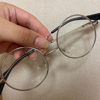 ウィゴー(WEGO)の丸メガネ(サングラス/メガネ)