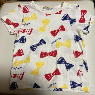 ムージョンジョン(mou jon jon)のムージョンジョン リボン Tシャツ 95(Tシャツ/カットソー)
