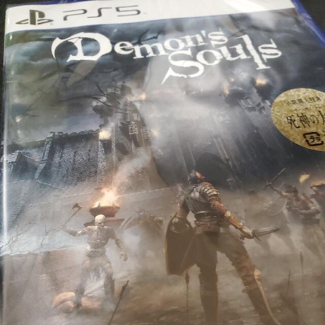 SONY(ソニー)の新品 未開封 Demon's Souls PS5 エンタメ/ホビーのゲームソフト/ゲーム機本体(家庭用ゲームソフト)の商品写真