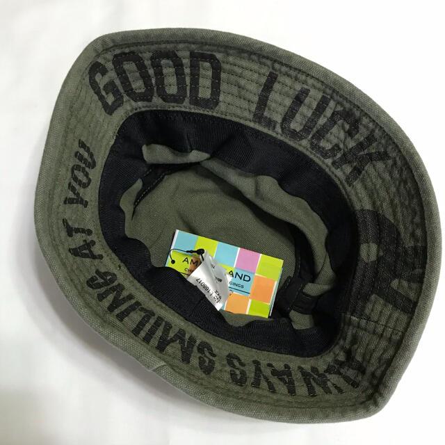 ampersand(アンパサンド)のアンパサンド バケットハット 54cm キッズ/ベビー/マタニティのこども用ファッション小物(帽子)の商品写真