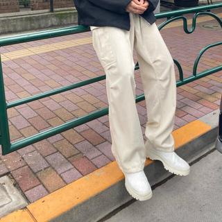 1LDK SELECT - AURALEE 19aw wool max gabazine pants