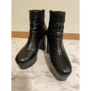 ESPERANZA - エスペランサ ブーツ 厚底 太ヒール