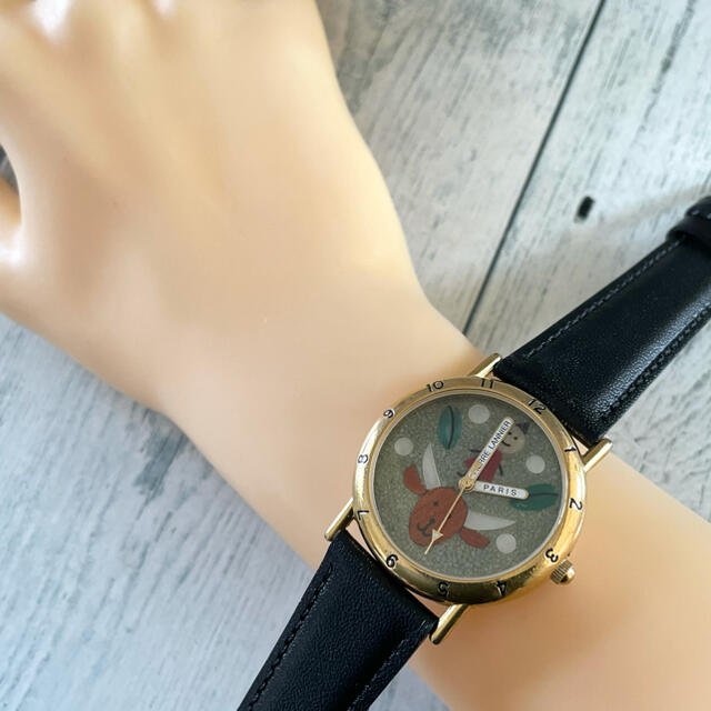 Pierre Lannier(ピエールラニエ)の【希少】Pierre Lannier ピエールラニエ 腕時計 山羊座 星座 レディースのファッション小物(腕時計)の商品写真