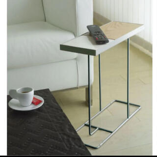 nico様専用美品デュエンデ サイドテーブルCOMPANION リバーシブル式(コーヒーテーブル/サイドテーブル)