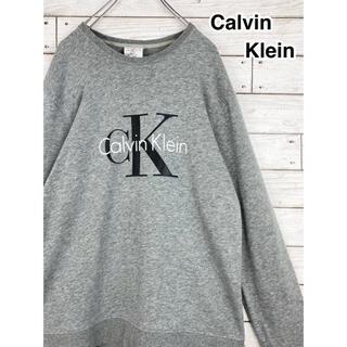 Calvin Klein - 【Calvin Klein】スウェット グレー ゆるだぼ◎ 美品◎ 高級◎