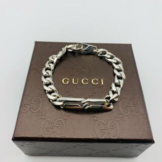 Gucci - GUCCI グッチ シルバー ノット インフィニティ ブレスレット