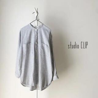 スタディオクリップ(STUDIO CLIP)のstudio CLIP バンドカラーシャツ (シャツ/ブラウス(長袖/七分))