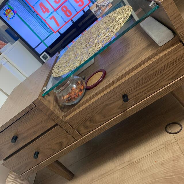 ニトリ(ニトリ)のドレッサー ローテーブル インテリア/住まい/日用品の机/テーブル(ローテーブル)の商品写真