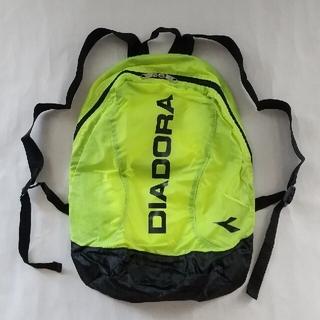DIADORA - DIADORA ポケッタブル バックパック