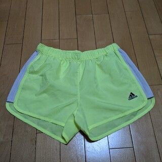 adidas - 【美品】アディダスadidas レディース ランニングパンツ Sサイズ 黄