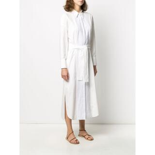 20SS ブルネロクチネリ モニーレ付き シャツ ワンピース ドレス xs