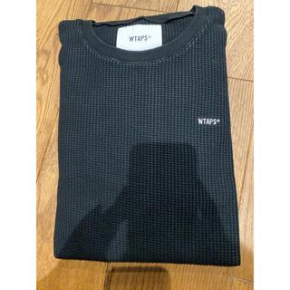 ダブルタップス(W)taps)のwtaps ワッフルロンT 新品未使用 サイズM(Tシャツ/カットソー(七分/長袖))