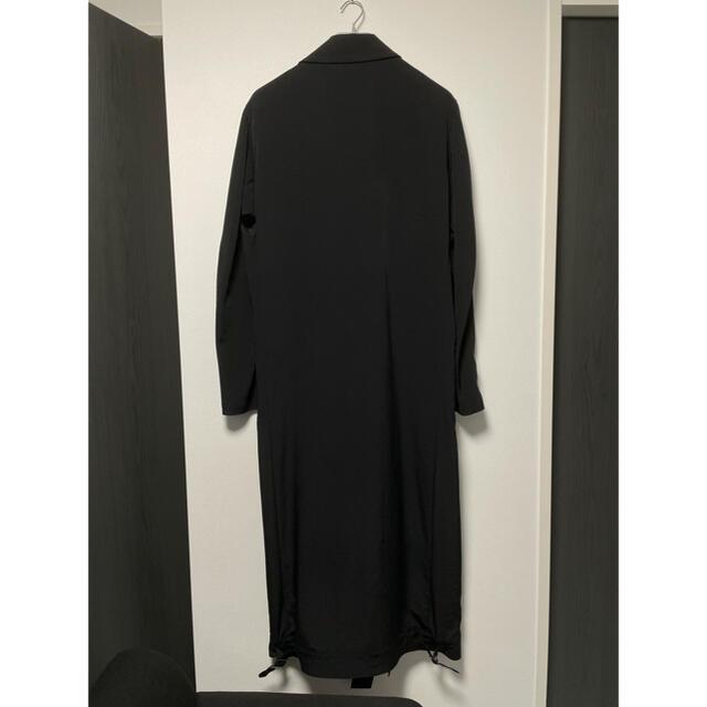 Yohji Yamamoto(ヨウジヤマモト)の【世界に1点のみ】ヨウジヤマモト プールオム 20SS トリポリロングライダース メンズのジャケット/アウター(トレンチコート)の商品写真