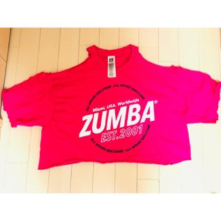 ズンバ(Zumba)のZUMBAリメイクTシャツ フリーサイズ(Tシャツ(半袖/袖なし))