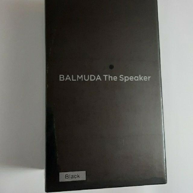 BALMUDA(バルミューダ)の【新品未開封】BALMUDAバルミューダ The Speaker M01A-BK スマホ/家電/カメラのオーディオ機器(スピーカー)の商品写真