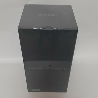 BALMUDA - 【新品未開封】BALMUDAバルミューダ The Speaker M01A-BK