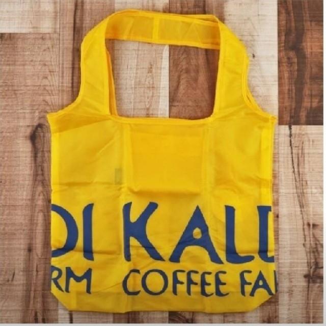 KALDI(カルディ)のKALDI エコバッグ 黄色 1つ レディースのバッグ(エコバッグ)の商品写真