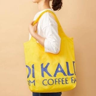 KALDI - KALDI エコバッグ 黄色 1つ