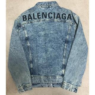 バレンシアガ(Balenciaga)のバレンシアガ ケミカルウォッシュデニムジャケット(Gジャン/デニムジャケット)