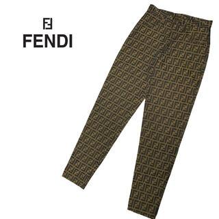 FENDI - FENDI ズッカ柄 パンツ イタリア製 高級 フェンディ vintage