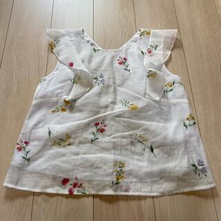 ノエラ(Noela)の花柄ブラウス♡Noela(シャツ/ブラウス(半袖/袖なし))