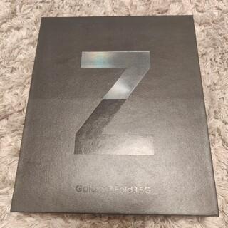 SAMSUNG - 新品 Galaxy Z Fold 3 256GB USモデル