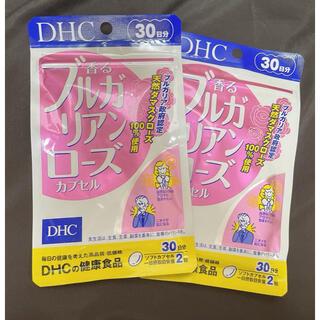 ディーエイチシー(DHC)のDHC 香るブルガリアンローズカプセル🌹30日分 ×2(口臭防止/エチケット用品)