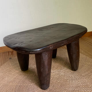 ACTUS - セヌフォスツール アフリカ椅子 プリミティブアート