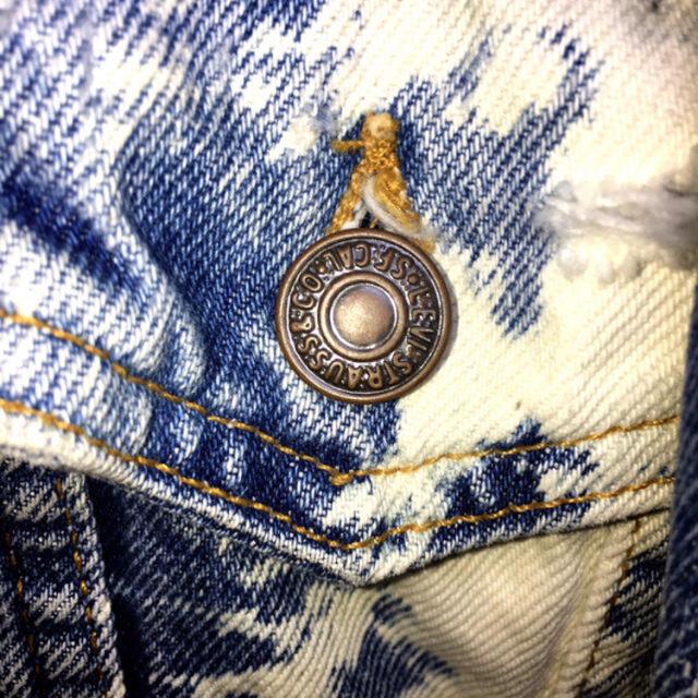 Levi's(リーバイス)のLevi'sスタッズ ブリーチ×ダメージデニムJKT メンズのジャケット/アウター(Gジャン/デニムジャケット)の商品写真