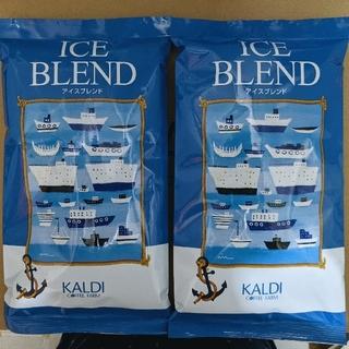KALDI - KALDI コーヒー粉 アイスブレンド 200g×2袋 イタリアンロースト