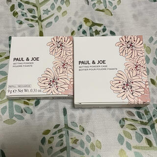 ポールアンドジョー(PAUL & JOE)の【新品未使用】PAUL&JOEセッティングパウダー02(ファンデーション)