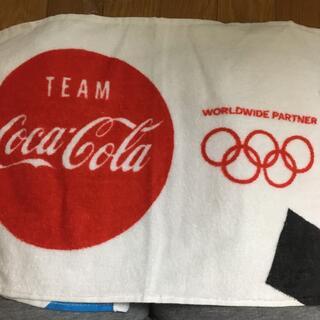 コカコーラ(コカ・コーラ)のコカ・コーラオリジナルフェイスタオル(タオル/バス用品)