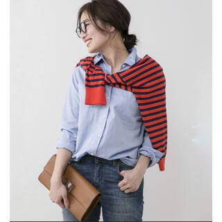 DEUXIEME CLASSE - 極美品✨ドゥーズィエムクラス ワイヤーウォッシュシャツ 長袖シャツ ブルー系
